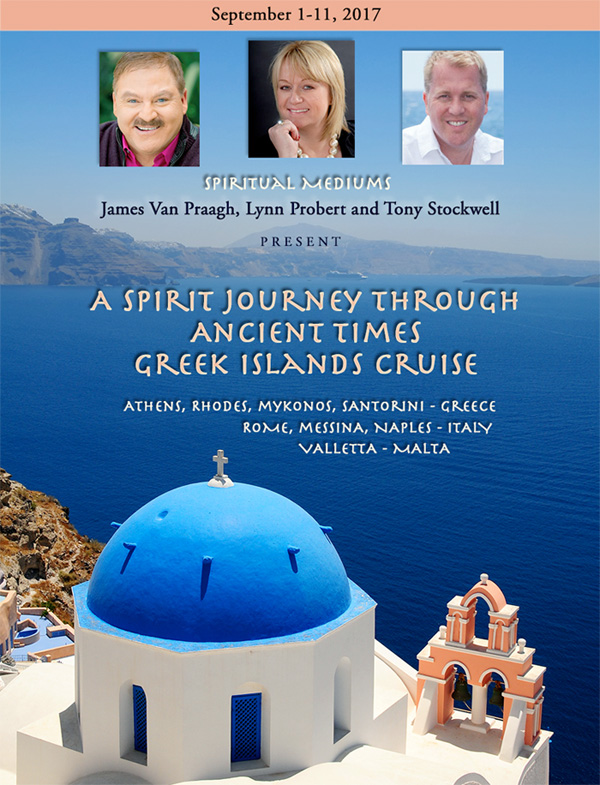 A Spirit Journey - Tony Stockwell, James Van Praagh, Lynn Probert