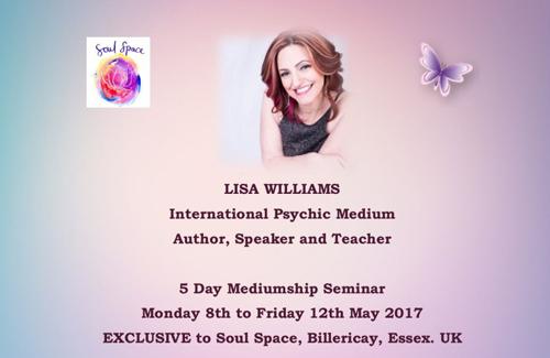 Lisa Williams at Soul Space