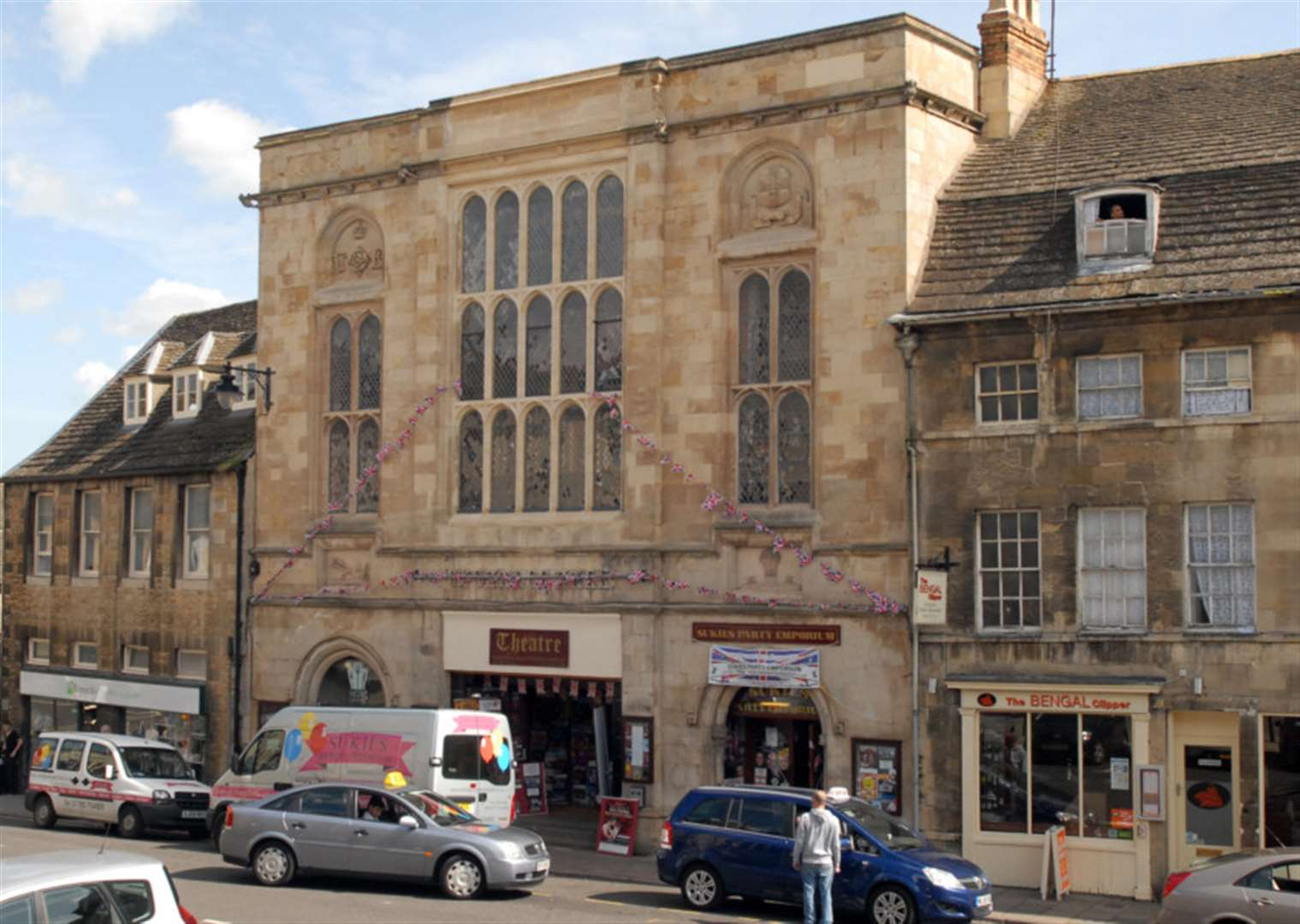 Tonsy Stockwell Psychic Medium event Stamford Corn Exchange Theatre