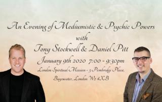 Psychic mediumship event featuring Tony Stockwell & Daniel Pitt
